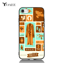 Firefly Fun Art For iPhone 6 6s 7 Plus Case TPU Phone Cases Cover Mobile Protection Decor Gift