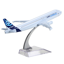 16cm Original Airbus A320 Airlines Diecast Plane Model Airplane Model for gifts