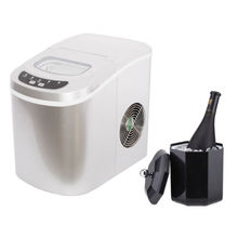 Smad Portable Ice Maker and Bucket Home Mini Bar High Quality Low Price Ice Mahine Set(China)