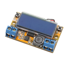 OOTDTY LCD Display Adjustable DC-DC Double Display Step Down Pulse Power Supply Module
