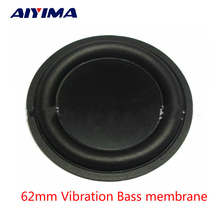 Aiyima 2pcs 62mm Strengthen bass vibrating diaphragm  plate vibrator Speaker