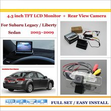 "For Subaru Legacy / Liberty Sedan 2003~2009 - Car Rear Camera + 4.3"" LCD Screen Monitor = 2 in 1 Back Up Parking System"