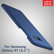 For Samsung Galaxy S7 cases Original Msvii Brand For samsung s7 case Slim hard PC scrub cover For samsung galaxy s7 edge cases