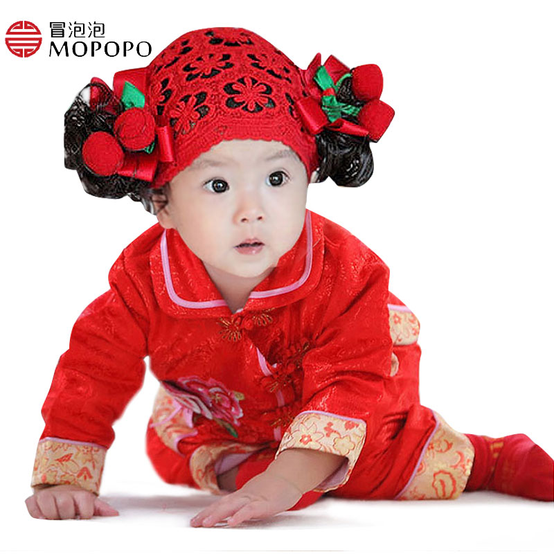 2017 Baby Girl Clothe Autumn Spring China Tang Style Cotton Newborn Baby Clothing Girl Long Sleeve Baby Newborn Clothes Set 2pcs<br><br>Aliexpress