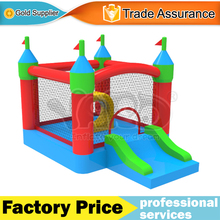 Home use nylon bounce house inflatable jumping castle trampoline toys for kids
