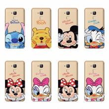 Cool Minne Mickey Dasy Donald Duck Design Cartoon TPU Silicone Phone Cases For ASUS Zenfone 3 ZE520KL 5.2 inch Funda Cover Case