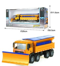 Alloy car model Engineering vehicles Snow removal snow special operations trucks toys for children(China)