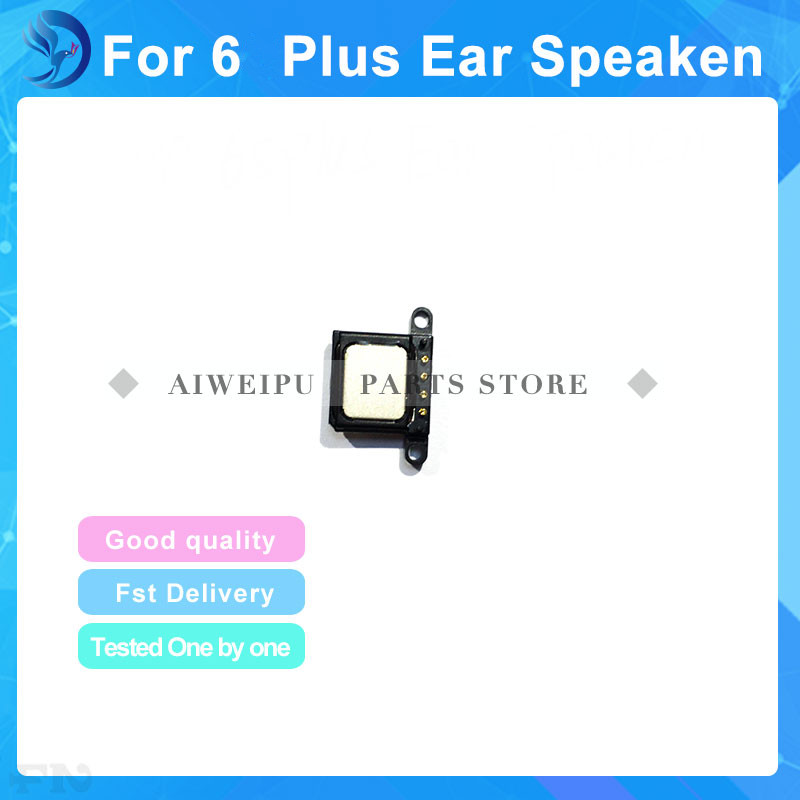 Best quality Earpiece Ear Speaker Sound Receiver Flex Cable Compatible For iPhone 6 Plus Replacement Repair Parts