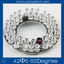 42 LED 5mm Infrared IR Led Board For Camera 60 Degree Bulb.CY42F5-60A