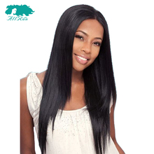 Natural Hairline Straight Peruvian Remy Hair 360 Lace Front Bob Wigs Baby Hair 100% Lace Front Human Hair Wigs Women