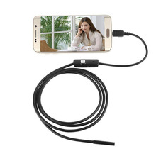 Cewaal 2M 7MM Waterproof IP67 Android Endoscope Inspection USB Borescope Tube Snake Mini Cameras Micro Camera(China)