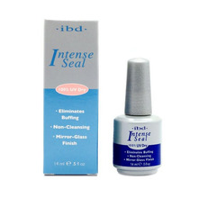 IBD Intense Seal Protect Dry Nail Top Coat salon for UV Gel Acrylic Wrap lasting Eliminates Buffing 0.5oz 14ML