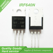 10PCS free shipping IRF640N IRF640 IRF640NPBF 200V 18A TO-220 MOSFET N channel fet 100% new original quality assurance