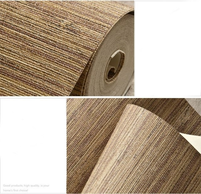 Modern Straw Wallpapers Waterproof PVC Wall Paper Roll Living Room Wallpaper for Walls Vinyl Contact Wallpaper papel parede<br>