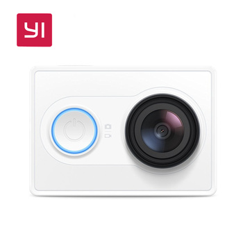 YI Action Camera 1080P 16.0MP 155 degree Ultra-wide Angle Lens Built-in WiFi 60/30fps 3D Noise Reduction Sports Mini Camera