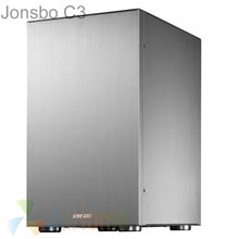 Jonsbo C3S C3 Silver HTPC Mini ITX case of the computer all aluminum, USB3.0 supprt ATX Power, Others C2 V4