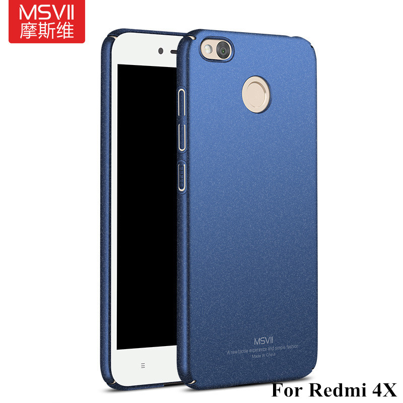 Luxury-Redmi-4X-case-Msvii-For-xiaomi-Redmi-4X-ultra-Thin-Hard-PC-360-full-Back