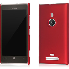 1x Matte Rubber Plastic Hard Case Back Cover For Nokia Lumia 925 N925 with Free Stylus Pen(China)