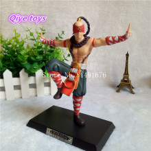 LOL Action Figure Lee Sin The Blind Monk 18cm PVC LOL Figure Model Toys For Boy's Gift Figure High Quality(China)