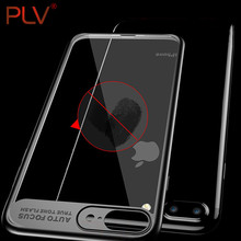 Buy PLV Slim Phone Case iPhone 7 6 6s plus Transparent PC & TPU Silicone iPhone Case Cover Coque iPhone7 Plus Case for $1.39 in AliExpress store