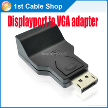 Displayport DP to VGA cable converter adapter Displayport in to VGA female out for DP dell lenovo pc monitors