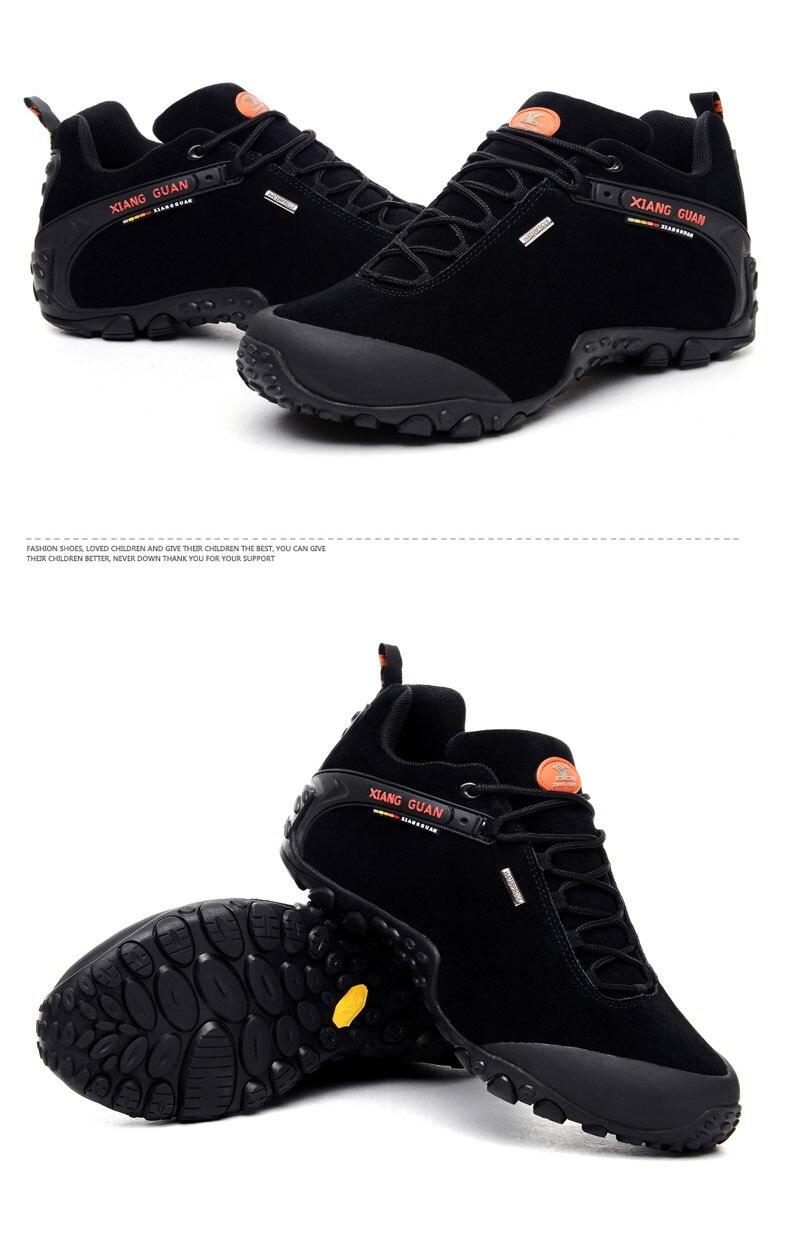 XIANG GUAN Winter Shoe Mens Sport Running Shoes Warm Outdoor Women Sneakers High Quality Zapatillas Waterproof Shoe81285 41