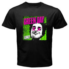 New Green Day Uno Rock Band Men's White Black T-Shirt Size S-2XL 2017 Summer New Brand T Shirt Men Hip Hop Casual Fitness