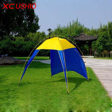 Outdoor Roof Tent Camping Sun Shelter Shade Beach Tent for Summer Holiday Fishing Swimming Boat 3-4 Persons Autumn BBQ