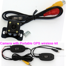 Vehicle back up parking RearView Reverse Reversing Rear camera Wireless Transmitter Kit for car Mirror Moniter GPS DVD Player