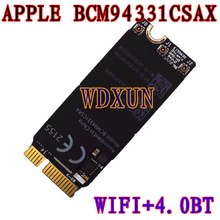 "607-8356 Bcm94331csax For Apple Macbook Pro 13"" A1425 2012 2013 Wifi Bluetooth Airport Card 98%new Condition Wireless Module"