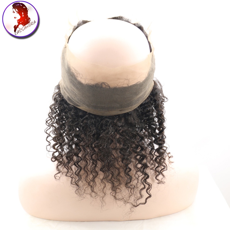 360 Lace Frontal Closure 8A Lace Frontals Kinky Curly With Baby Hair Natural Hairline Peruvian 360 Lace Virgin Human Hair<br><br>Aliexpress