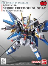 SD Gundam Aix Standard Strike Freedom Gundam 006 Building model Scale model(China)