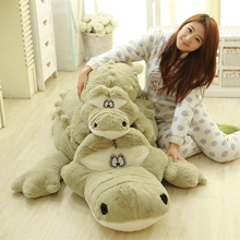2 Colors Huge Big Lovely Crocodile Toys 79'' 200cm Biggest Crocodile Pillow Plush Stuffed Crocodile Alligator Toy