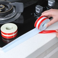 LOVE COSY Kitchen Tape Bathroom Sinks Wall Sealing Waterproof Belt Moldproof Adhesive Tie Seal Corner Stickers Home Decor 2322WS