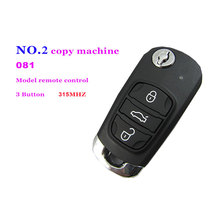 Auto remote control retrofit  3 button 081 model remote control for NO.2 copy machine 315MHZ Free Shipping