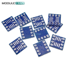 20PCS SOP8 SO8 SOIC8 TO DIP8 Interposer Board Pcb Board Adapter Plate New