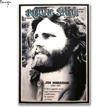 ZP159 The Doors Rock Band Vintage Jim Morrison Art Poster Silk Light Canvas Painting Print For Home Decor Wall Picture(China)
