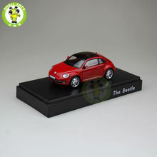 1:43 Scale VW Volkswagen beetle Diecast Car Model Toys red no paper box(China)