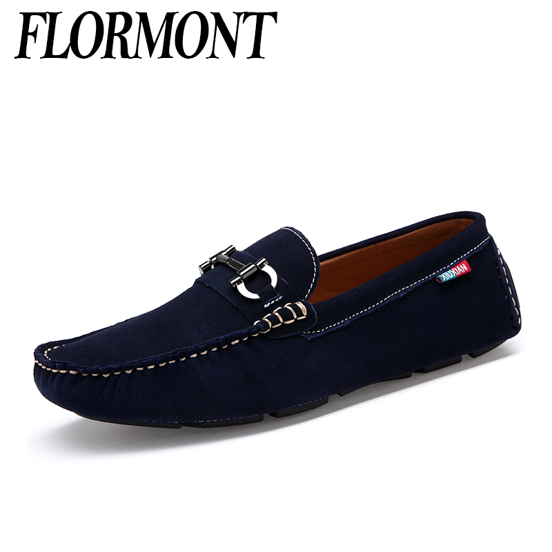 Fashion Genuine Leather Men Driving Shoes Casual 2017 New Moccasins Men Loafers Shoes Luxury Brand Man Flats Shoes Men Chaussure<br>