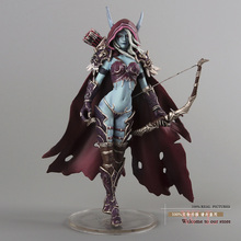 "Darkness Ranger Lady Sylvanas Windrunner 7"" PVC Action Figure Collection Model Toy K136"