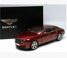 Kyosho Bentley Mulsanne Speed 1:18 Alloy resin car model High-quality original Perfect details Limited Collector luxury car gift