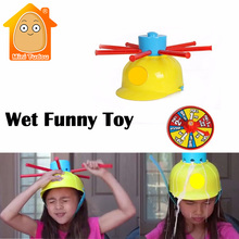 Minitudou Wet Funny Challenge Head Jokes&Funny Toys Water Roulette Game Kid Toys Great Game Gags Practical Jokes