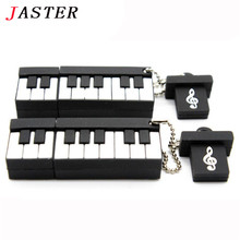 JASTER piano USB Flash Drive Fashion music pendrive music pen drives 8GB 16GB 32GB music instrument usb disk free shipping