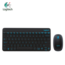 Logitech MK245 2.4GHZ Wireless Mouse and Keyboard Combos Support Waterproof 1000DPI Mini Mice and Keyboard Support Official Test