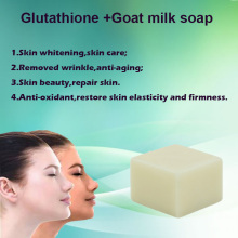 100g skin lightening soap glutathione extract skin whitening herbal soap effective skin whitening soap(China)
