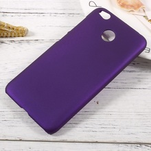 Case Cover for Xiaomi Redmi 4X Mobile Phone Bag Rubberized PC Hard Cell Phone Case for Xiaomi Redmi 4X Shell Fundas Coque-Purple