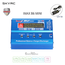 SKYRC IMAX B6 MINI 60W Balance RC Charger/Discharger For RC Helicopter Re-peak for NIMH/NICD Aircraft + Power Adpater (optional)