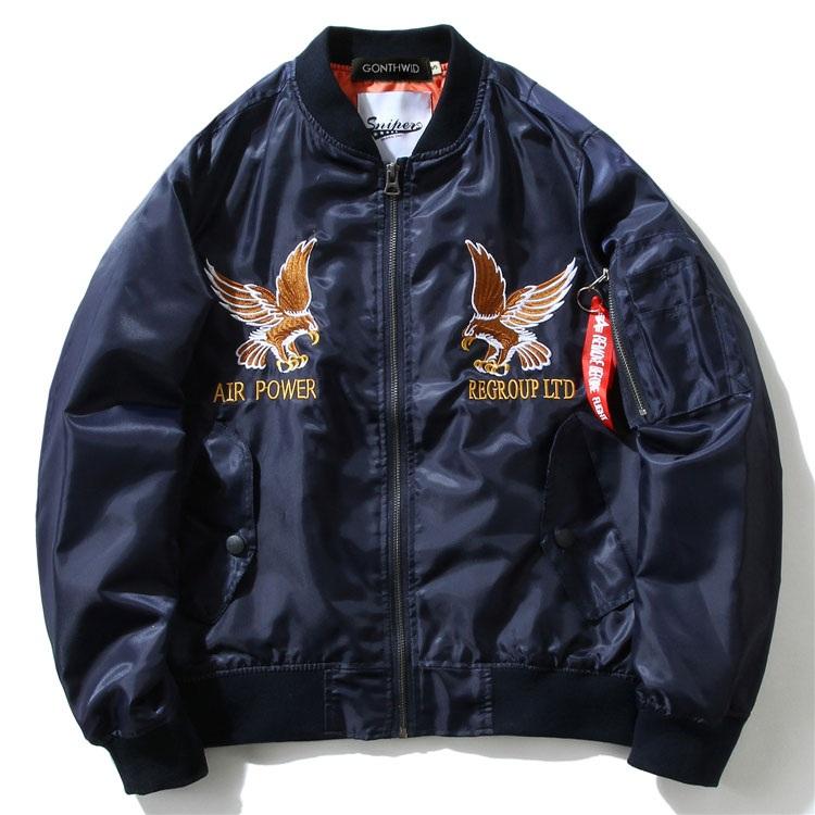 Eagle Dragon MA1 Bomber Jacket 4