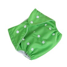 New Baby Diapers Washable Reusable Nappies Grid/Cotton Training Pant Cloth Diaper 0-3Y X16