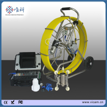 VICAM cctv sewer camera 360 degree rotating waterproof plumbing pipe inspection camera system 120m cable V8-3288PT-1(China)